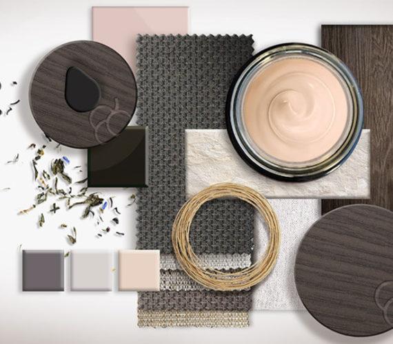 Nachhaltige Kosmetikverpackungen - Materialbild - Materialien