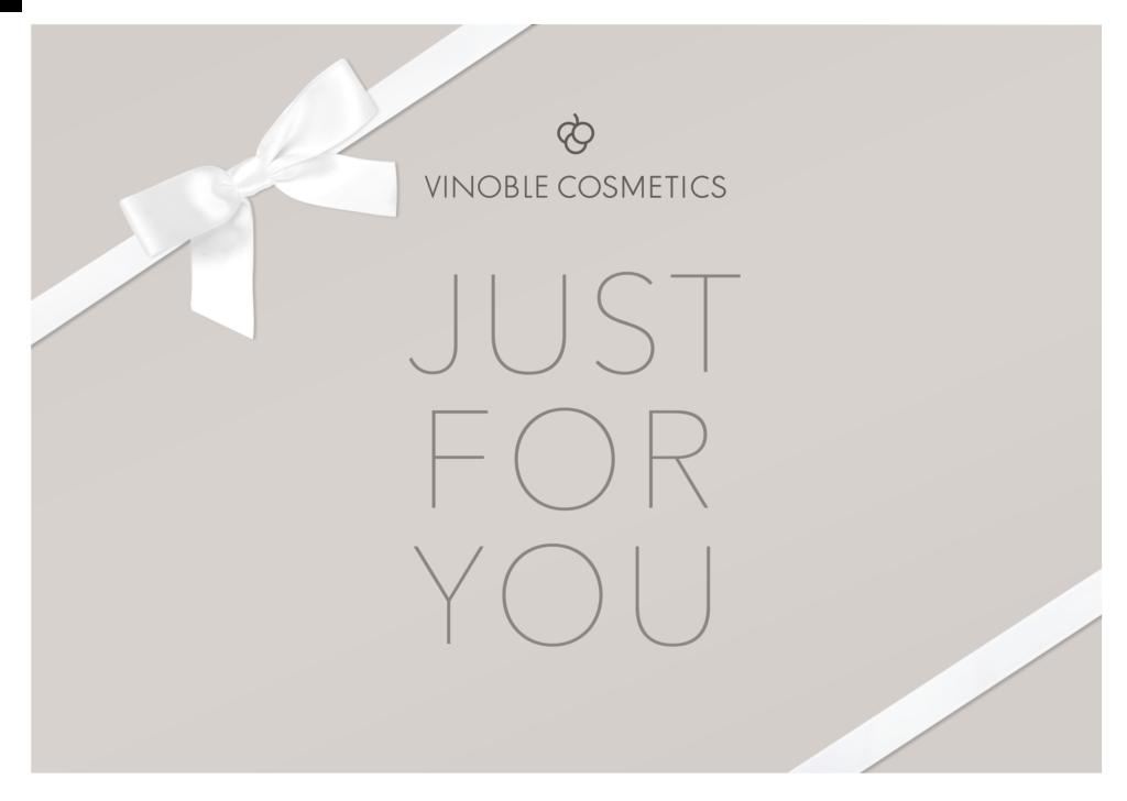 Gutschein Vinoble Cosmetics