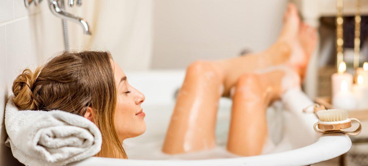 Home-Spa in der Badewanne