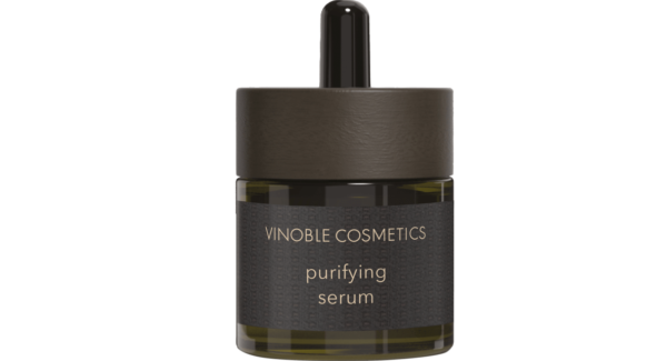purifying serum - against blemishes, pimples and blackheads - helps with acne.