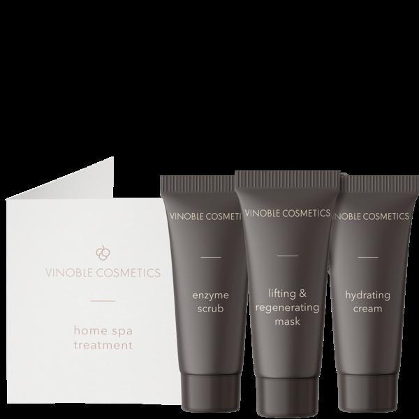 sample set - home spa treatment